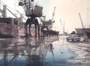 Early Morning 55x75cm