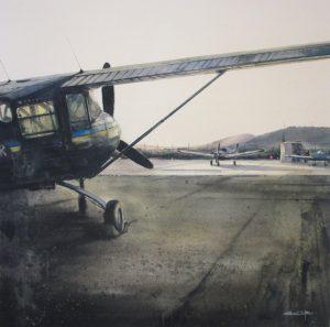 Skydive 80x80cm