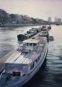 Thames 70x50cm