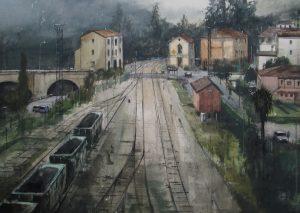Mine Railway 55x75cm